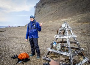 Peter, the geologist, made very sure that we knew he was conceived on Beechey Island.
